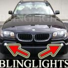 2004-2006 BMW X3 e83 xenon Fog Lamps Driving Lights Kit