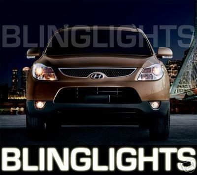 2007 2008 2009 2010 2011 Hyundai Veracruz ix55 Xenon Foglamps Foglights Driving Fog Lamps Lights Kit