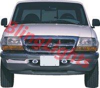1998 1999 2000 Ford Ranger Xenon Bumper Fog Lights Driving Lamps Kit