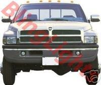 1994 1995 1996 1997 1998 1999 2000 2001 Dodge Ram 1500 Xenon Fog Lamps Driving Lights Kit