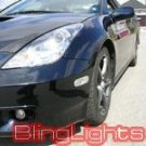 2000 2001 2002 2003 2004 2005 Toyota Celica GT GT-S Xenon Foglamps Fog Lamps Driving Lights Kit