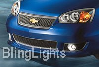 2004 2005 2006 2007 Chevrolet Chevy Malibu Xenon Fog Lamps Driving Lights Foglamps Foglights Kit