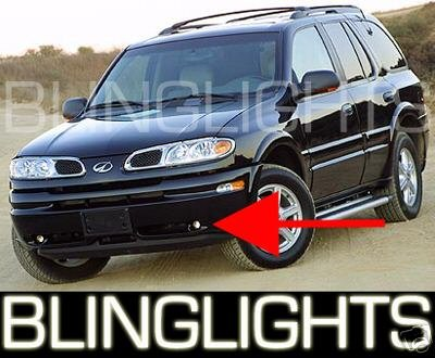 2002 2003 2004 Oldsmobile Bravada Xenon Fog Lamps Driving Lights Foglamps Foglights Kit