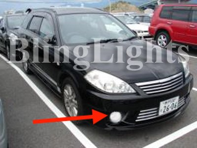 Y12 Nissan Wingroad Xenon Fog Lamps Driving Lights Kit Foglamps Foglights Drivinglights
