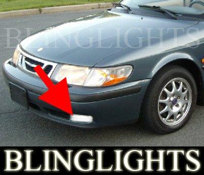 1999-2002 SAAB 9-3 CONVERTIBLE XENON FOG LIGHTS DRIVING LAMPS LIGHT LAMP KIT 2000 2001