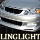 2003-2008 Toyota Corolla Vuteq Body Kit Bumper Foglamps Foglights Fog Lamps Driving Lights