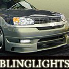 2004 2005 2006 2007 Chevrolet Chevy Malibu Erebuni Body Kit Fog Lamps Bumper Driving Lights