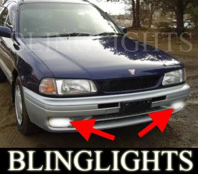 Y10 Nissan Wingroad Xenon Fog Lamps Driving Lights Kit foglamps foglights drivinglights