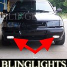 1994-1998 SAAB 900 TALLADEGA FOG LIGHTS driving lamps 1995 1996 1997