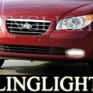 2007 2008 2009 Hyundai Elantra GLS SE Xenon Fog Lights Driving Lamps Kit