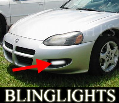 2001 2002 DODGE STRATUS SE COUPE XENON FOG LIGHTS DRIVING LAMPS LIGHT LAMP KIT