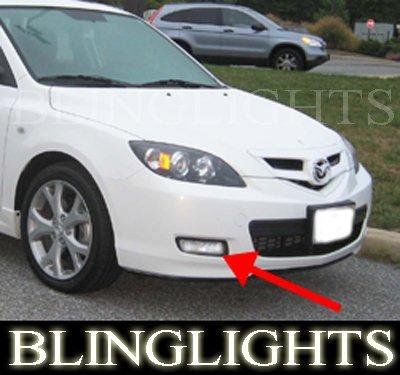 2007 2008 2009 Mazda3 Mazda 3 Hatchback Hatch Xenon Foglamps Fog Lamps Driving Lights Kit