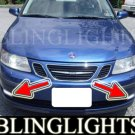 2003-2007 SAAB 9-3 LINEAR 1.8T 2.0T FOG LIGHTS XENON DRIVING LAMPS LIGHT LAMP KIT 2004 2005 2006