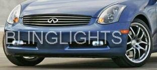 Infiniti G35 Sedan Coupe Xenon Foglamps Foglights Driving Fog Lamps Lights Drivinglights Kit
