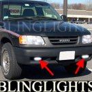 1996 1997 1998 1999 2000 Isuzu Hombre Xenon Fog Lamps Driving Lights Foglamps Foglights Kit
