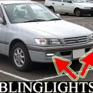 1996-2001 TOYOTA CORONA FOG LIGHTS DRIVING LAMPS LIGHT LAMP KIT premio 2000