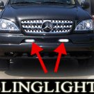 1998 1999 2000 2001 2002 2003 2004 2005 Mercedes-Benz M-Class W163 Fog Lamps Driving Lights Kit