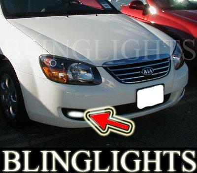 2007 2008 2009 Kia Spectra Sedan Xenon Foglamps Foglights Fog Lamps Driving Lights Kit ex lx