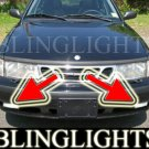1999-2002 SAAB 9-3 TURBO XENON FOG LIGHTS DRIVING LAMPS LIGHT LAMP KIT 2000 2001