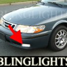 1999-2002 SAAB 9-3 CONVERTIBLE XENON FOG LIGHTS DRIVING LAMPS LIGHT LAMP KIT 2000 2001