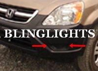 2002 2003 2004 Honda CR-V CRV Xenon Foglamps Foglights Driving Fog Lamps Lights Kit