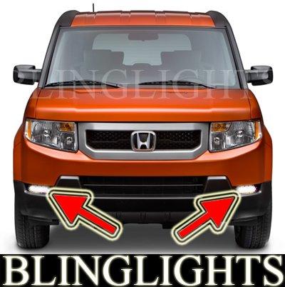 2009 2010 2011 Honda Element Xenon Foglamps Foglights Kit EX LX Driving Lights