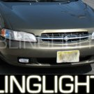 1998 1999 2000 2001 Nissan Altima Xenon Fog Lamps Driving Lights Kit XE GXE SE GLE L30