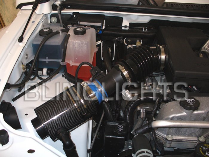 2006 2007 2008 2009 2010 Hummer H3 3.5L 3.7L Engine Air Intake System Kit h3x h3t