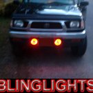 1995 1996 1997 Toyota Hilux Halo Fog Lamps Angel Eye Driving Lights Foglamps Foglights Kit