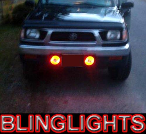 1998 1999 2000 Toyota Hilux Halo Fog Lamps Angel Eye Driving Lights Foglamps Foglights Kit
