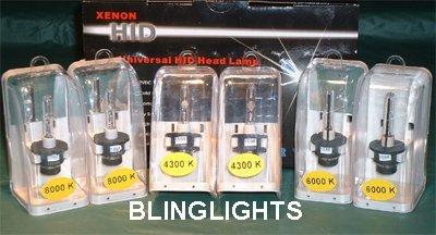 Toyota Prius Replacement OEM HID Head Lamp Light Bulbs Set Pair