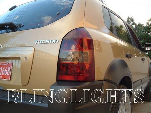 2004-2009 Hyundai Tucson Smoked Tail Light Overlay Protective Lamp Tint Kit