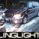 1999-2005 KIA CARNIVAL ANGEL EYES FOG LIGHTS HALOS LAMPS LIGHT LAMP KIT 2000 2001 2002 2003 2004