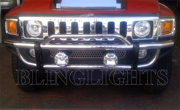 Hummer H2 Lamp Bar Auxilliary Off Road Driving Lights Kit