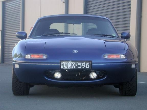 1990-1998 Mazda Miata Grill Auxiliary Fog Lamps Driving Lights MX-5 NA