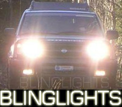 2000 2001 Nissan Xterra Xenon Fog Lamps Driving Lights Foglamps Foglights Drivinglights Kit