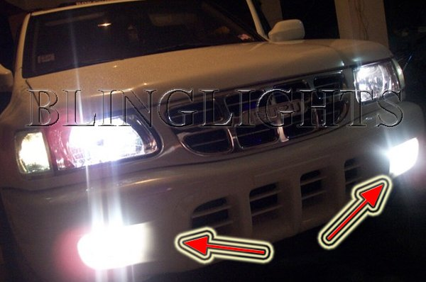 1998 1999 Isuzu Rodeo Xenon Bumper Foglamps Drivinglights Kit S LS LSE V6