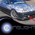1988 1989 1990 1991 Honda CR-X DX HF Si SiR Xenon Foglamps Foglights Fog Lamps Driving Lights Kit