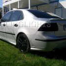 Saab 9-3 Tinted Smoked Taillamps Taillights Overlays Film Protection