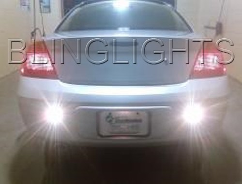 2004 2005 2006 DODGE STRATUS SXT REAR BACKUP LIGHTS BACK UP LAMPS REVERSE LIGHT BUMPER DRIVING LAMP