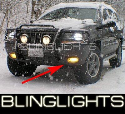 1996 1997 1998 JEEP GRAND CHEROKEE BUMPER FOG LIGHTS DRIVING LAMPS LIGHT LAMP KIT 96 97 98