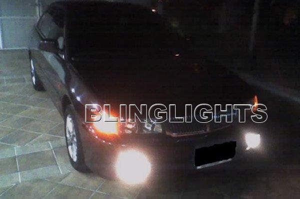 1997 1998 1999 2000 2001 Mitsubishi Lancer Xenon Foglamps Foglights Fog Lamps Driving Lights Kit