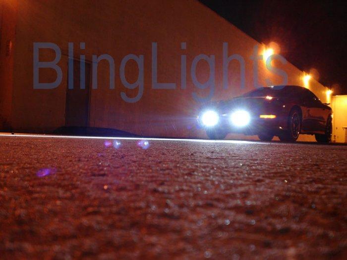 93-02 Pontiac Firebird Trans Am HID Fog Driving Lights Kit Xenon Foglamps