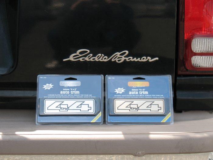 PONTIAC TORRENT CHROME 4X4 DECAL METAL BUMPER LOGO AWD 4WD OFF ROAD BADGE SUV EMBLEM