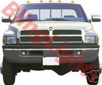 1994 1995 1996 1997 1998 1999 2000 2001 2002 Dodge Ram 3500 Xenon Foglamps Fog Lamps Lights Kit