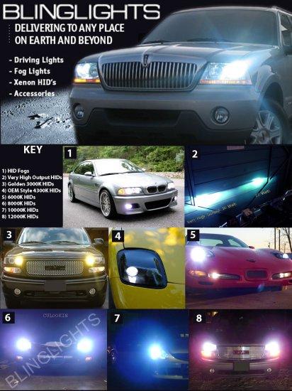 Chevy Corvette C5 Xenon HID Head Lamps Lights Conversion Kit 1997 1998 1999 2000 2001 2002 2003 2004