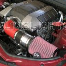 2010 2011 2012 Chevrolet Chevy Camaro SS 6.2L V8 Carbon Fiber Ram Air Engine Intake Kit 1SS 2SS