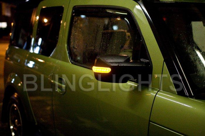 Jeep Wrangler LED Side View Mirror Lights Turn Signal Pair Kit Set