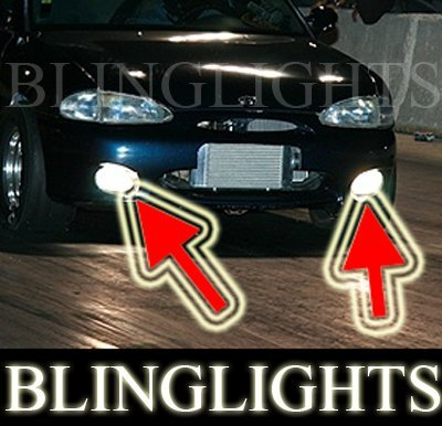 1995 1996 1997 1998 1999 Hyundai Accent Driving Light Fog Lamp Kit