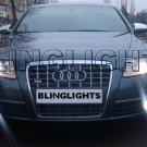 2005-2008 Audi A6 Xenon Fog Lights Driving Lamps Kit 2006 2007